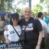<p>Rosemary and Karen Lontka, partners at the walk</p>